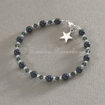 Midnight Star Remembrance Bracelet